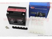 Аккумулятор 9Аh МОТО YВ9A-BS (кислотный, сухой) 135/75/135мм, 2017 [OUTDO]