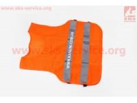 Жилет безопасности светоотражающий сетка, M (58*53см) [Китай]