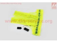 Жилет безопасности светоотражающий сетка LED, M (50*48см) [Китай]