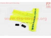 Жилет безопасности светоотражающий сетка LED, XL (58*56см) [Китай]
