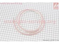 Шланг топливный силикон ПРОЗРАЧНЫЙ (внешн.7мм, внутр. 5мм) - 1метр [Китай]