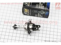 Лампа фары галоген H4 P43T 12V 60/55W [FUSION]