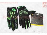 Перчатки L-зеленые, тип 2 [monster]