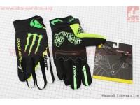 Перчатки XL-зеленые, тип 1 [monster]
