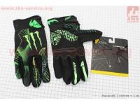 Перчатки XL-зеленые, тип 2 [monster]