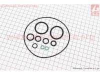 Манжеты двигателя резиновые уплотнительные к-кт 11шт [LIPAI]