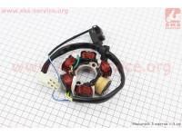 Статор магнето (на 6 катушки) ALPHA (широкий разьем), тип 2 [Китай]