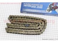 Цепь привода колеса 428Н*112L (оригинал) [KMC]