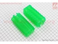 Резинка подножки ALPHA к-кт 2шт, зеленый [TMMP]