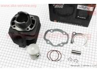 Цилиндр к-кт (цпг) Honda DIO AF27 50cc-39мм черная коробка (палец 12мм) [SEE]
