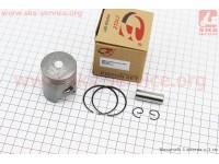 Поршень, кольца, палец к-кт Honda DIO ZX50 40мм STD (палец 12мм) [B-cycle]