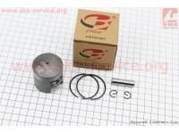 Поршень, кольца, палец к-кт Suzuki AD50 41мм +0,75 (палец 10мм) [B-cycle]
