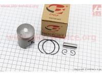 Поршень, кольца, палец к-кт Honda DIO50 39мм +1,00 (палец 12мм) [B-cycle]