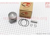 Поршень, кольца, палец к-кт Honda DIO ZX50 40мм +1,00 (палец 12мм) [B-cycle]