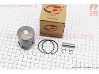 Поршень, кольца, палец к-кт Yamaha JOG50 40мм +0,25 (палец 10мм) [B-cycle]