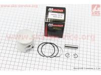 Поршень, кольца, палец к-кт Honda TACT65 44мм +0,75 (палец 10мм) [Mototech]