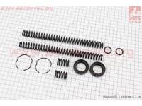 Ремонтный комплект передней вилки Yamaha JOG SA-36/39, 12 деталей  [Mototech]