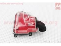 Фильтр воздушный в сборе Yamaha JOG 3KJ (прозрачный) [Китай]