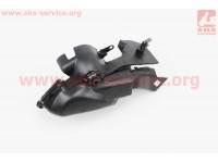 Крышка пластиковая обдува карбюратора к-кт 2шт Honda DIO AF34/35 [Китай]