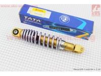 Амортизатор задний GY6/Yamaha - 260мм*d49мм (втулка 10мм / вилка 8мм) регулир., серый [TATA]