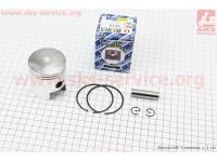 Поршень, кольца, палец к-кт Suzuki AD100/110 52,5мм +0,50 (палец 12мм) [ULTIMO]