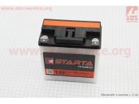 "Аккумулятор 6V 18Аh 3МТС-18 кислотный (L140*W75*H140mm), 2021, плоская клема, МТ, ИЖ  ""STARTA"" [Украина]"