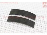 Тормозные накладки к-кт 2шт с заклёпками [Китай]