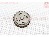 Диски сцепления фрикционный к-кт 3шт  (диски, столик, пружина) Карпаты Тип №2 [Китай]
