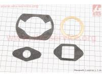 Прокладки цилиндра Карпаты, к-кт 4 детали, (бумага, медь) [Китай]