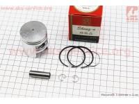 Поршень, кольца, палец к-кт Honda TACT (SA50) 41мм +1,00 красная коробка (палец 10мм) [SEE]