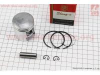 Поршень, кольца, палец к-кт Suzuki AD50/LETS 41мм +0,75 красная коробка (палец 10мм) [SEE]