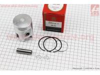 Поршень, кольца, палец к-кт Yamaha AXIS-90 50мм +0,25 красная коробка (палец 12мм) [SEE]