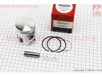 Поршень, кольца, палец к-кт Yamaha AXIS-90 50мм +1,00 красная коробка (палец 12мм) [SEE]
