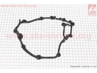 Прокладка крышки двиг. правая Suzuki AD50/Lets 4T(паронит) [Украина]