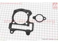 Прокладка цилиндра , натяжителя к-кт 2шт Honda DIO AF68(паронит) [SALO]