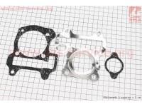Прокладки поршневой к-кт 3шт Honda DIO AF68 (паронит) 4Т [SALO]