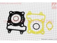 Прокладки поршневой к-кт Honda SH125cc-52,4mm (металл) [Китай]