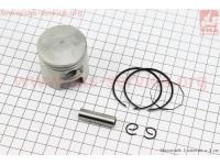 Поршень, кольца, палец к-кт Suzuki AD65/LETS 44мм +0,50 (палец 10мм) [Китай]
