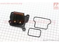 Клапан лепестковый карбюратора Suzuki AD, Sepia || (корпус пластик), Тайвань [Taiwan]