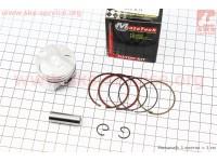 Поршень, кольца, палец к-кт Yamaha SA36J +0,25 (палец 10мм) [Mototech]