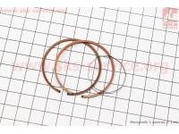 Кольца поршневые Honda DIO65 43мм +0,75 (замки верхние) [Mototech]
