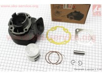 Цилиндр к-кт (цпг) Honda DIO ZX/AF34 65cc-44мм (палец 12мм) (AF35  DIO ZX; AF48 LEAD) [Scorpion]