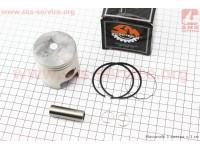 Кольца поршневые Suzuki AD100 52,5мм STD (+ поршень, палец) [Scooter-M]