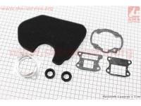 """Фильтр-элемент воздушный (поролон) Honda TACT AF24/30/31 + прокладки + сальники, к-кт 7 деталей, """"расходники"""" [Украина]"""