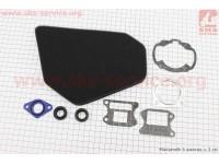 """Фильтр-элемент воздушный (поролон) Honda AF18 + прокладки + сальники, к-кт 8 деталей, """"расходники"""" [Украина]"""