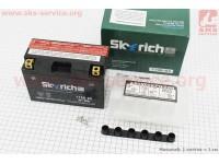 Аккумулятор 8Аh МОТО YT9B-BS (кислотный, сухой) 150/70/105мм, 2019 [Skyrich]