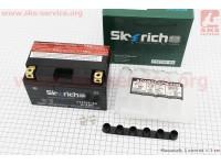 Аккумулятор 8.6 Аh МОТО YTZ10S-BS (кислотный, сухой) 150/87/93мм, 2019 [Skyrich]