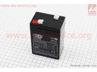 Аккумулятор OT5-6C - 6V5Ah (L70*W48*H100mm) для ИБП, игрушек и др., 2020 [OUTDO]