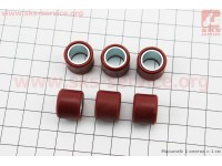 Ролики вариатора 6шт, Honda/GY6 16*13 - 5,0г, Тайвань [Mototech]