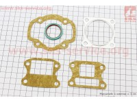 Прокладки поршневой к-кт 2шт Honda DIO 80 - 48mm, Тайвань [Mototech]